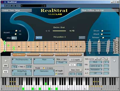 Biareview com - MusicLab RealStrat