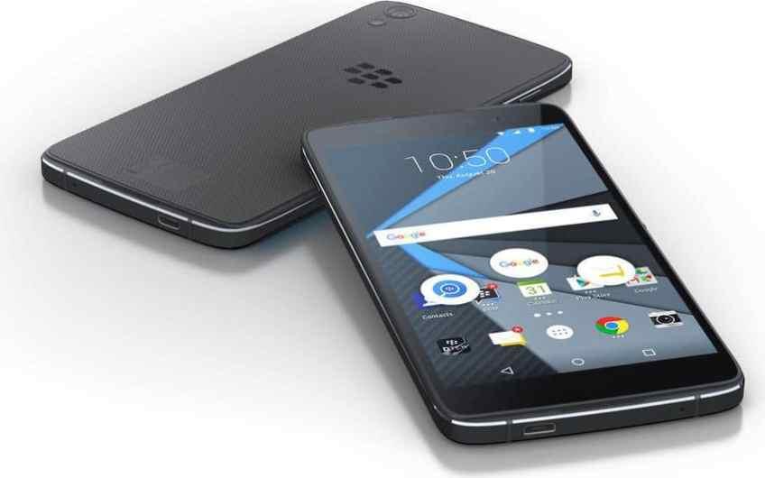 Biareview com - BlackBerry DTEK50