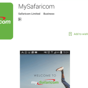 How to install the mySafaricom Android App
