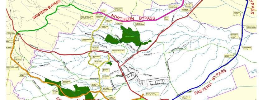Western Bypass Road Construction begins Gitaru to Ruaka