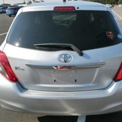 Toyota Vitz Back