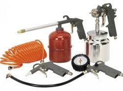 5pc air spray paint kit