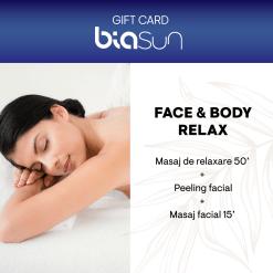 CARD CADOU SPA: FACE & BODY RELAX