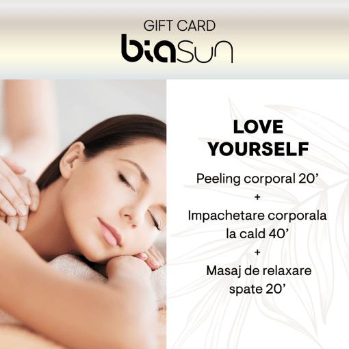 CARD CADOU SPA: LOVE YOURSELF