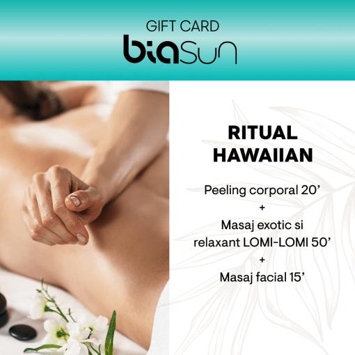 CARD CADOU SPA: RITUAL HAWAIIAN