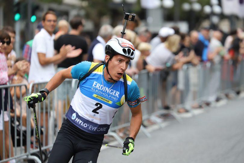 Le City Biathlon diffusé sur la chaîne l'équipe - Julien Klein