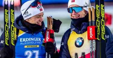 Johannes Boe & Tarjei Boe - IBU
