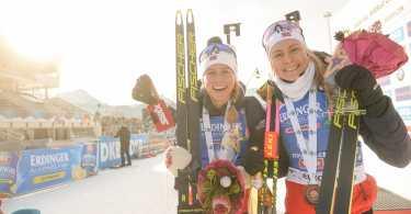Ingrid Tandrevol - Tiril Eckhoff - IBU