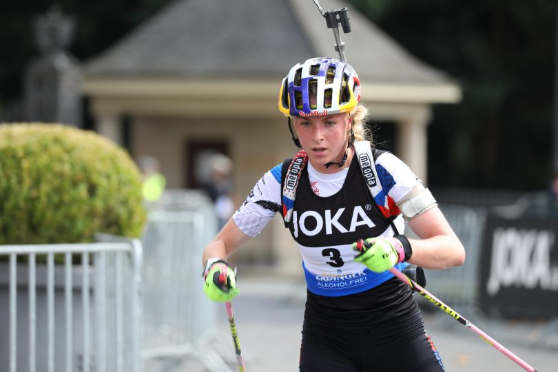 Marketa Davidova - City Biathlon / Biathlon Live via Julien Klein