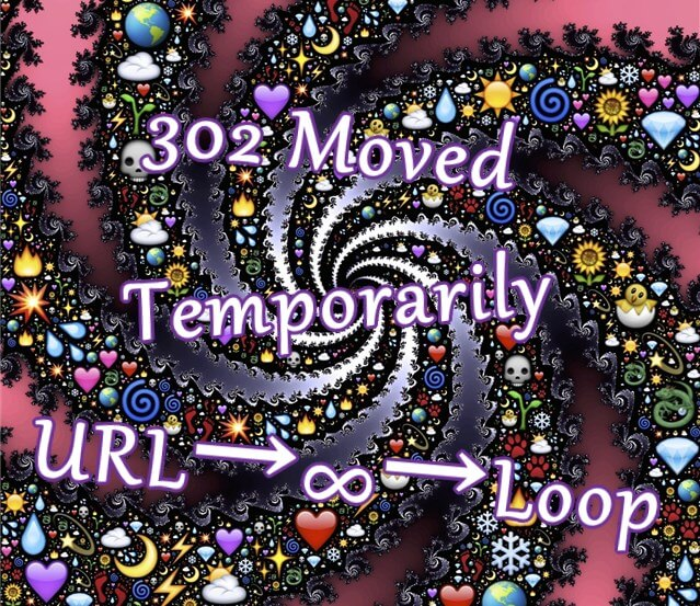 302 Moved TemporarilyでURL∞ループ