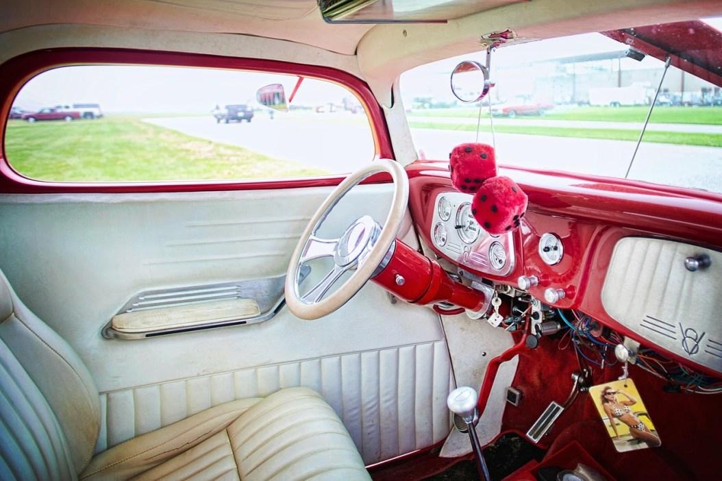 可愛い車のダッシュボード