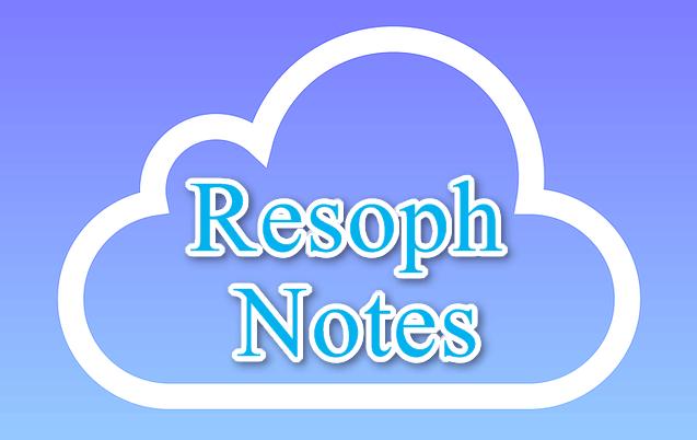 ResophNotes