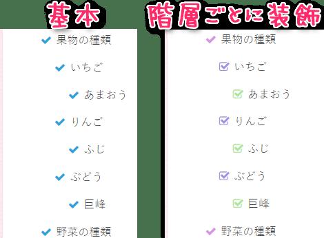 ul li:beforeの装飾を変更した例