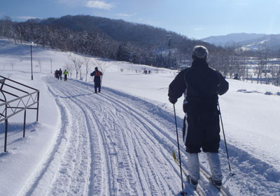 ski hiking