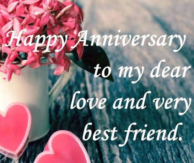 Happy Anniversary Messages for Friend