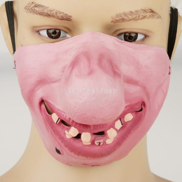 Scary Mask for Funny Moments