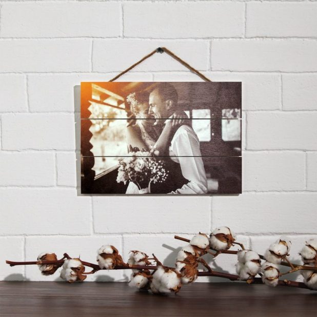 Classic Wooden Photograph