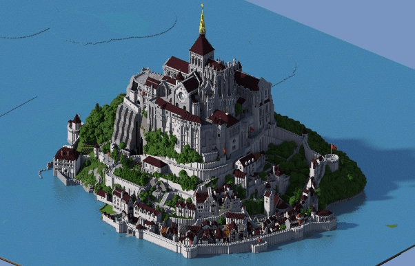 minecraft castle design ideas