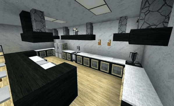 Best Modern Minecraft Kitchen Ideas Bib And Tuck