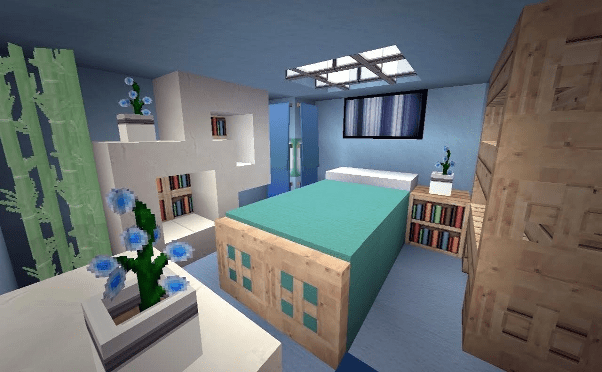 30 Creative Minecraft Bedroom Ideas in game (best image)