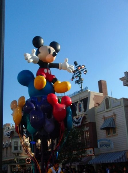 Celebrate! Paraded Down Main Street USA For The First Time In 2009, And I Was Lucky Enough To Capture It