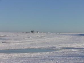 På isen!