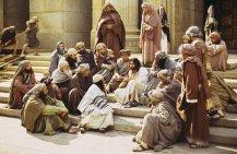 Jesus vittnar vid templet