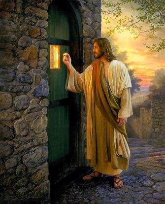 Jesus knackar på ditt hjärtas dörr