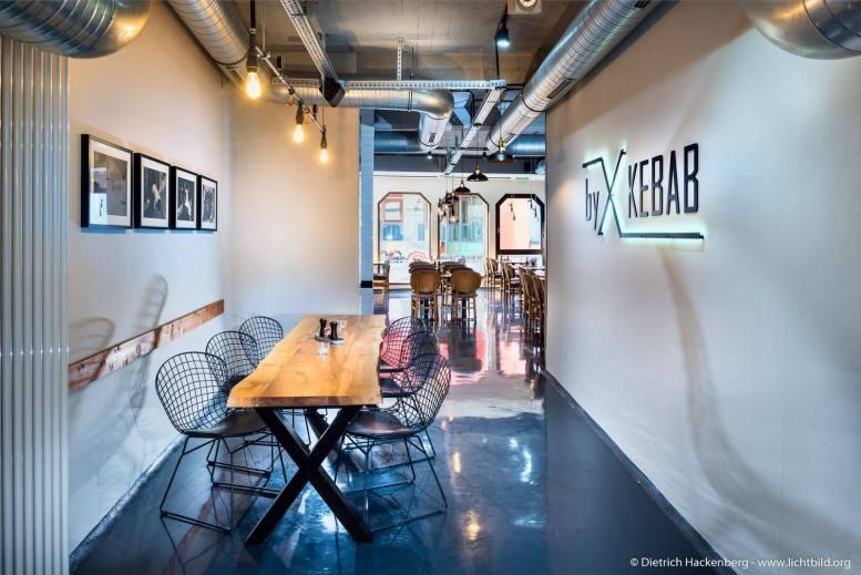 X-Kebab Innenarchitektur