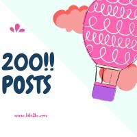 Celebrating 200 Posts!!