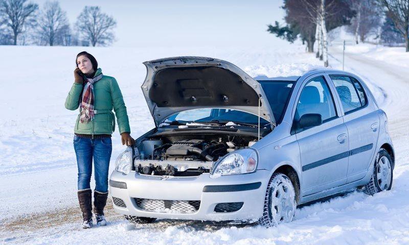 Kereta tidak bermula pada musim sejuk. Alasannya