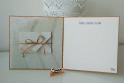 Hochzeitskarte Sommer, Sonne, Strand, Seestern individuell und handgemacht_1