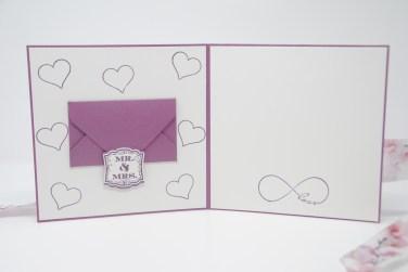 Hochzeitskarte lila handgemacht_1