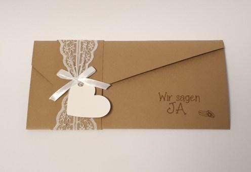 bibibunt Hochzeitspapeterie Einladung