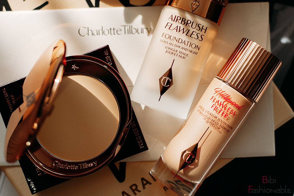 First Date with Charlotte Tilbury Flatlay