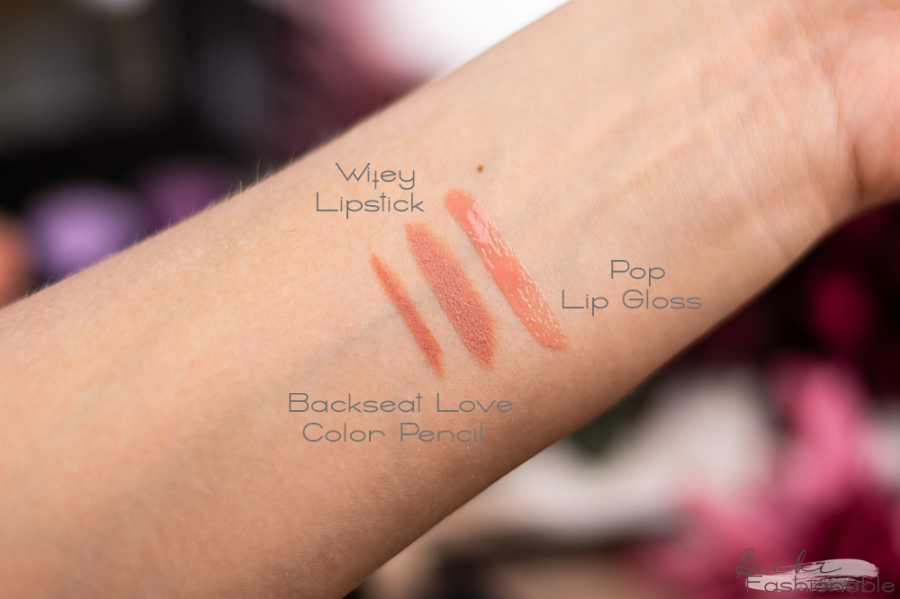 Morphe out & a pout Nude Pink Lip Trio Swatches
