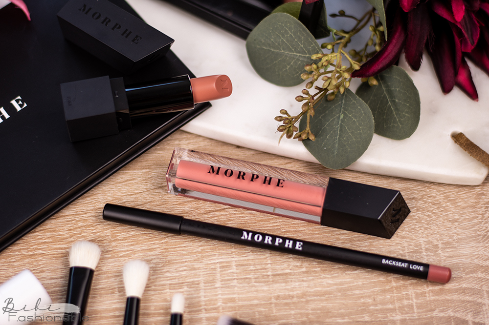 Morphe out & a pout Nude Pink Lip Trio