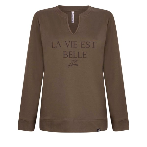 Zoso Sweater Belle Army