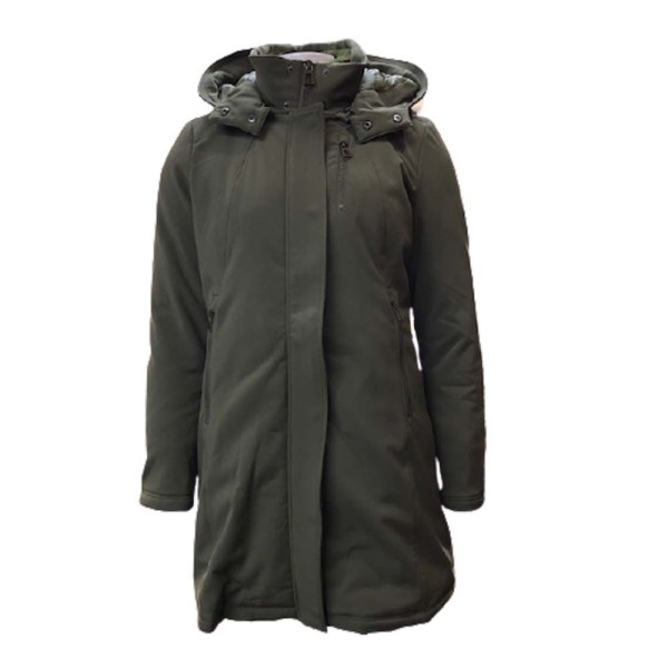 Softshell Jas Laura Jo Army