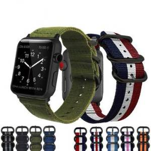 Bracelet Nylon Tissé Apple Watch