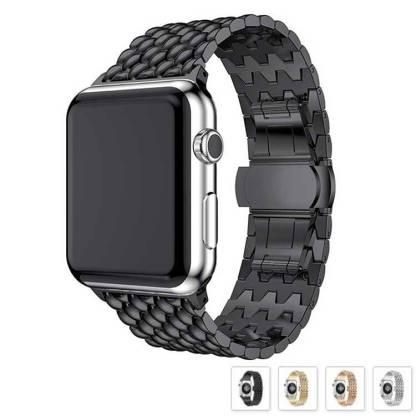 Bracelet Apple Watch à Maillons Acier Inoxydable