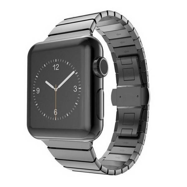 Bracelet pour Apple Watch Maillons en Acier Inoxydable