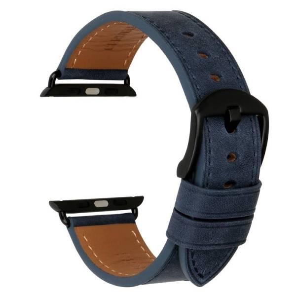 Bracelet Cuir pour Apple Watch série 4/3/2/1