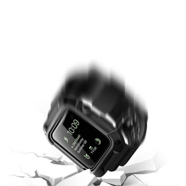 Bracelet Apple Watch série4/3/2/1 avec Coque de Protection