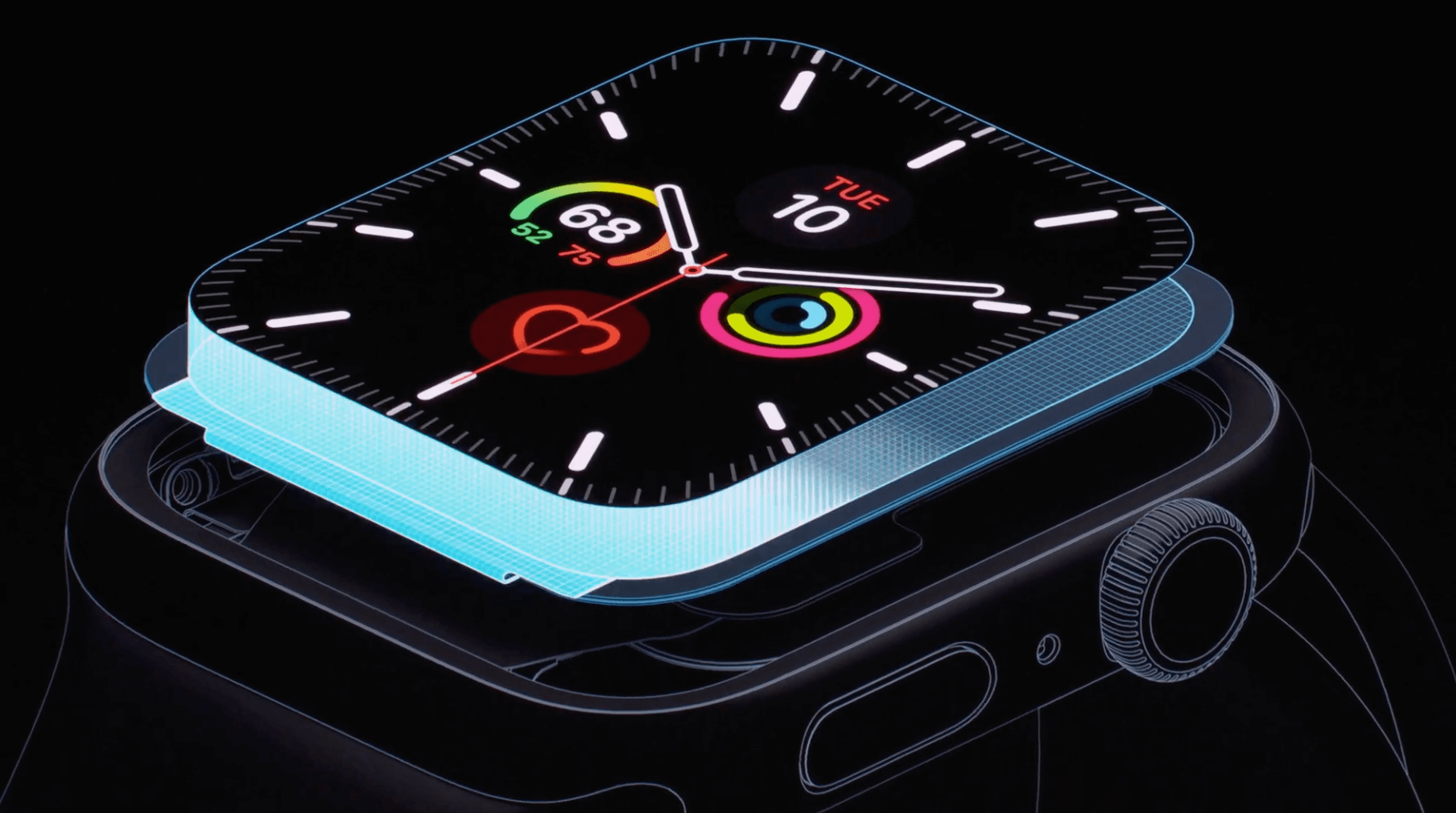 écran RétinaApple Watch Series 5