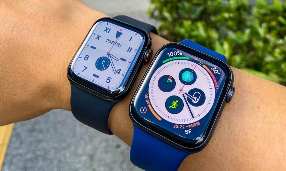 L'Apple Watch Series 5 de 40 mm a une nouvelle conception radicale de la batterie