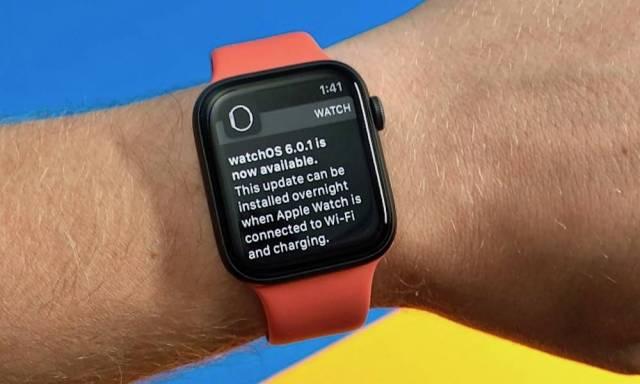 Téléchargement: watchOS 6.0.1 pour Apple Watch