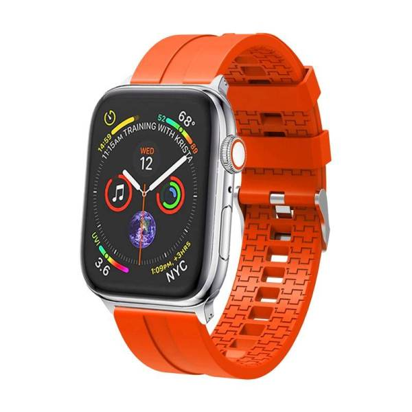 Bracelet en Silicone pour montre Apple 44mm/40mm et 38mm 42mm