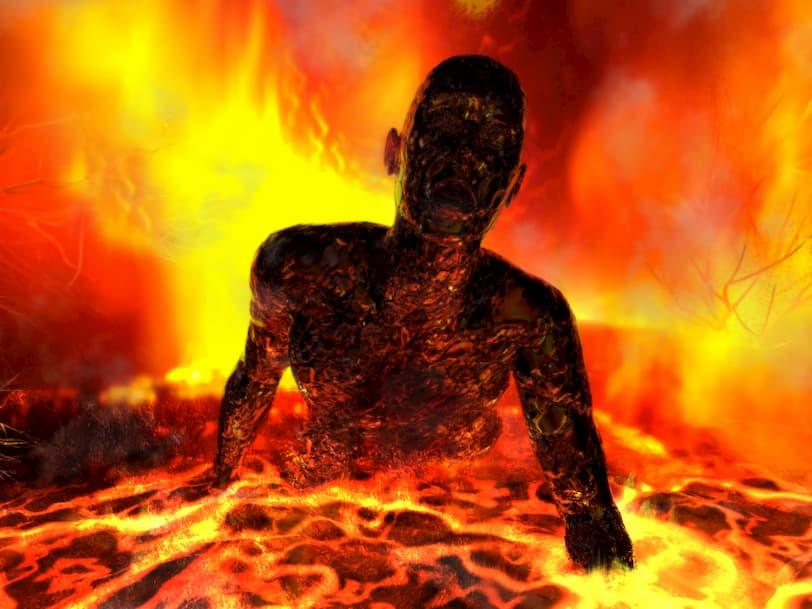 Бог определил место для грешников после их физической смерти, их души отправятся в гиену огненную!