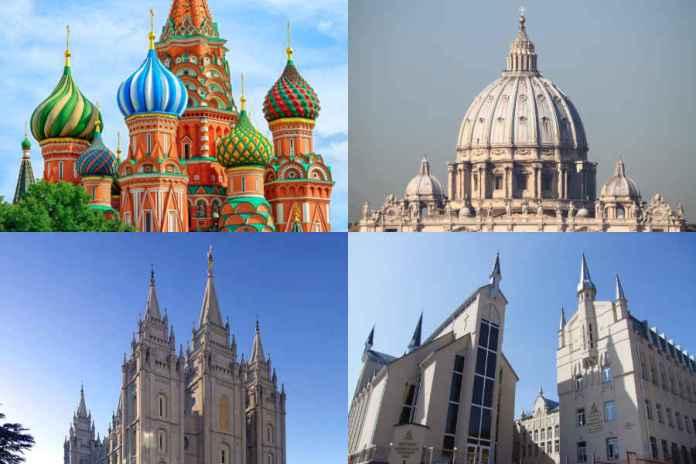 Почему существует так много различных церквей в этом мире?